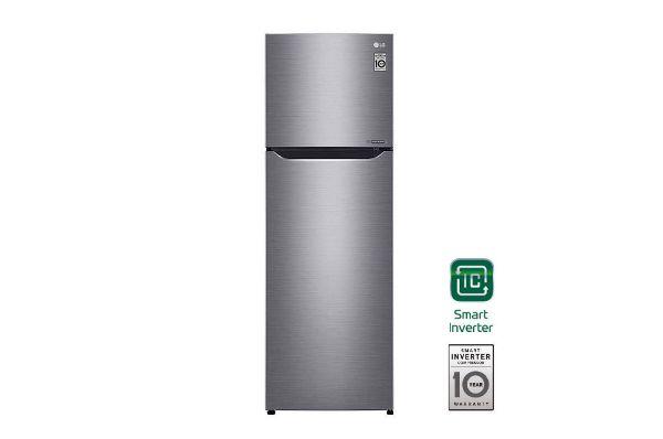 Imagen de Refrigeradora Automática LG (GT29BPP - GT29BDC) 9cf 251l Silver