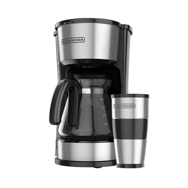 Imagen de Coffee Maker 4 En 1 Black Decker  CM0755S-LA