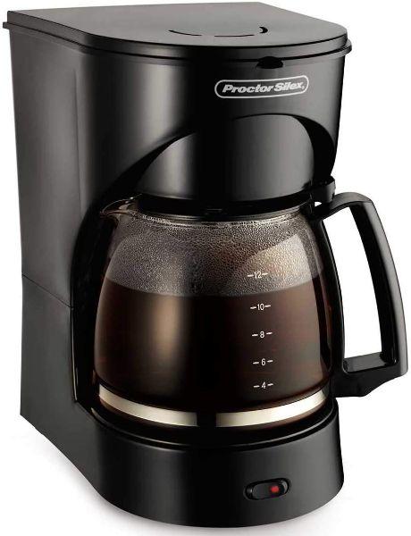 Imagen de Coffee Maker Proctor Silex Negro 12 TZ., 900W 43502