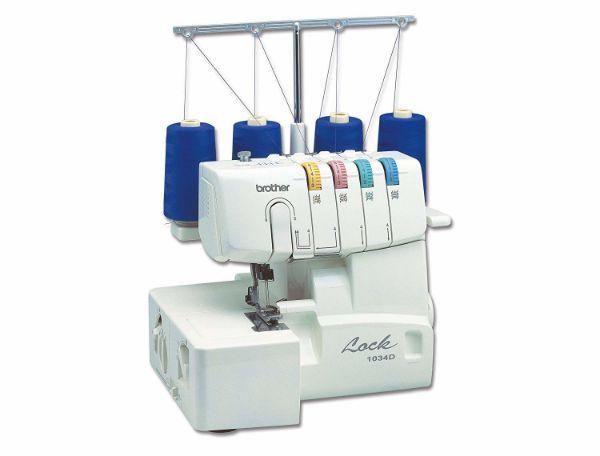 Imagen de Máquina de coser overlock con alimentador diferencial 1034d brother