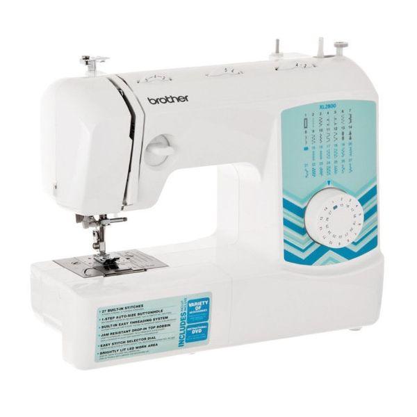 Imagen de Máquina de coser 27 puntadas c/ojal de 1 paso xl2800 brother