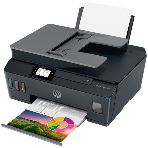 Imagen de Impresora HP Multifuncional Deskjet 530 AiO Z4B04A Inalámbrica + resma de papel HP y llave maya 16 GB