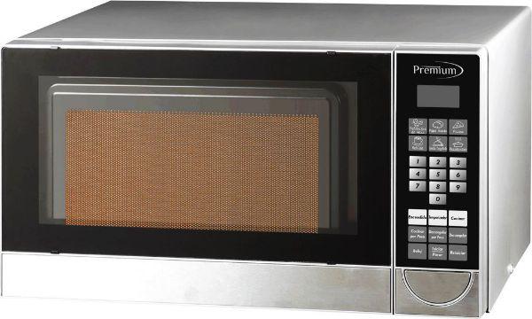 Imagen de Horno Microondas Premium PM70710 0.7 pies digital gris
