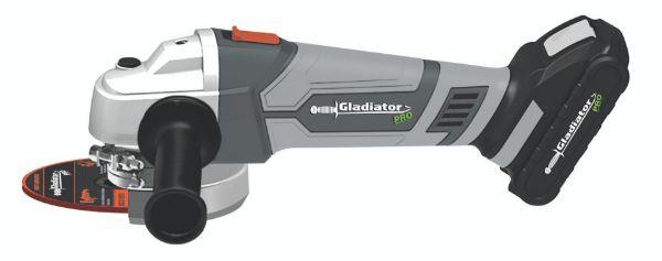 Imagen de Esmeriladora Recargable Gladiador 2 4 1/2 2- AA 815/18 K2 + camiseta Gladiador 1033115419 (VEGA)