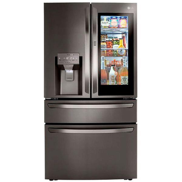 Imagen de Refrigeradora SXS FD LG LM85SXD 30CF 842L negra