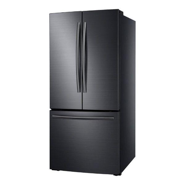 Imagen de Refrigerador SAMSUNG 22 pies FRECH DOOR BLACK TWIN RF220NCTASG/AP