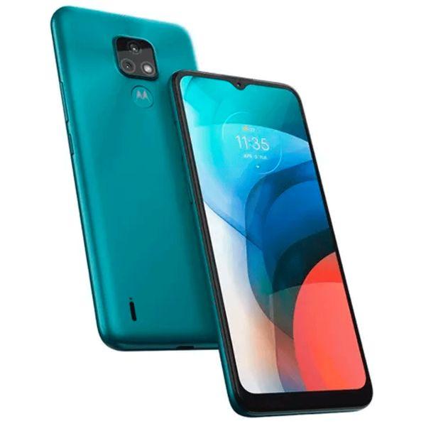 Imagen de Teléfono celular MOTOROLA E7 XT2095-1 blue bird 2+32GB dual SIM