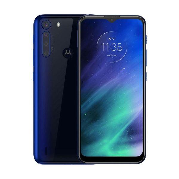 Imagen de Teléfono celular MOTOROLA one fusion XT2073-2 glowing blue 4+128GB dual sim