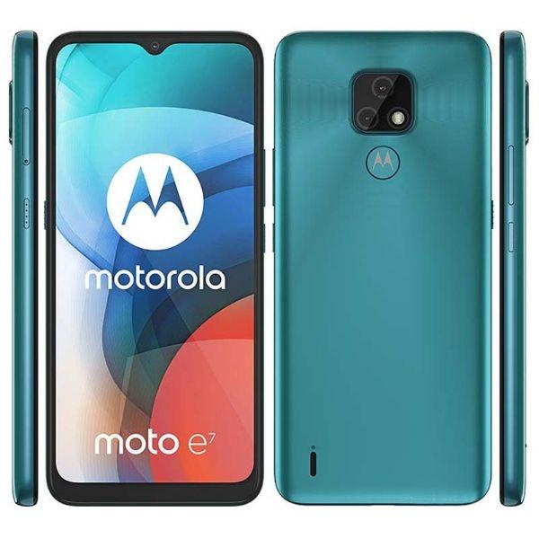 Imagen de Teléfono celular MOTOROLA E7 XT2095-1 ice flow 2+32GB dual sim
