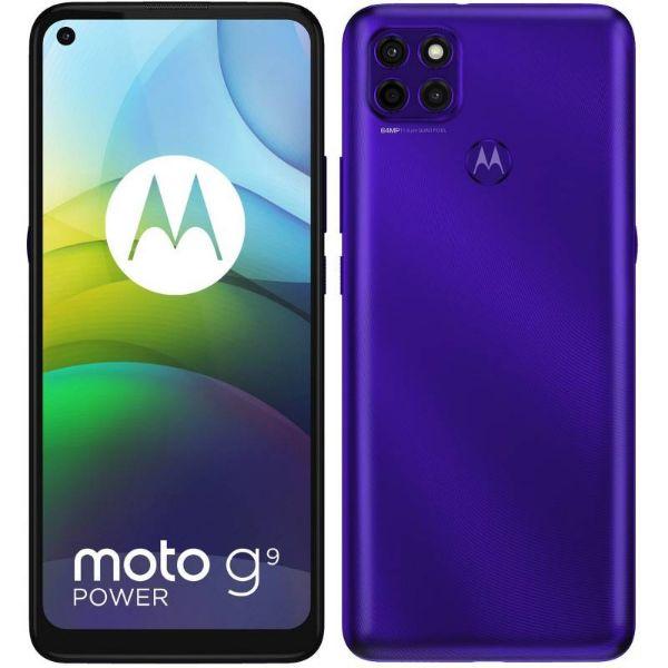 Imagen de Teléfono celular MOTOROLA G9 power XT2091-4 morado sonico 4+128GB dual sim